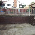 Block Wall Preston - Before