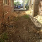Coloured Concrete Ringwood North - Before