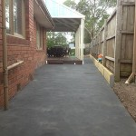 Coloured Concrete Ringwood North - After