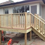 Decking and Stair Deakin - After