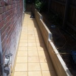 Paving and Retaining Glen Iris - After