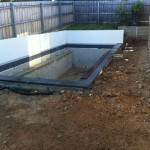 Pool Paving Wonga Park - Before