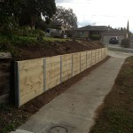 Retaining Wall Templestowe - After