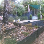 Retaining Wall Lilydale - Before
