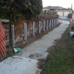 Retaining Wall Templestowe - Before