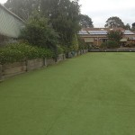 Retaining Wall Bowling Green Donvale - Before